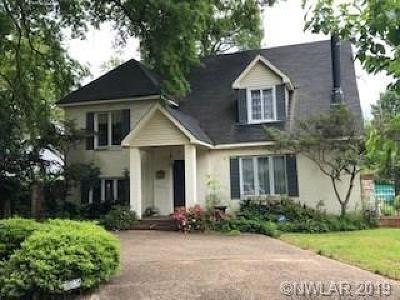 Shreveport Single Family Home For Sale: 963 Ratcliff Street