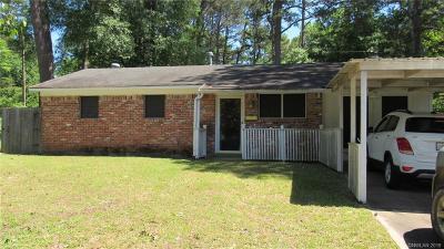 Shreveport Single Family Home For Sale: 2545 Crape Myrtle