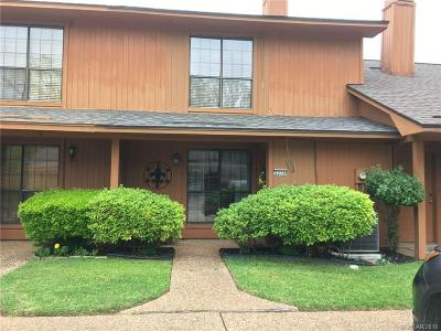 Shreveport Condo/Townhouse For Sale: 3278 Eastwood Drive