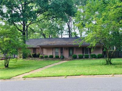 Shreveport Single Family Home For Sale: 6612 Snapper Circle