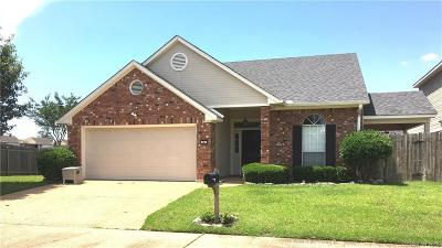 Shreveport Single Family Home For Sale: 547 Honeygold Drive