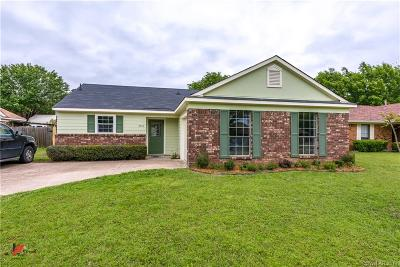 Shreveport Single Family Home For Sale: 4710 Bramble Way