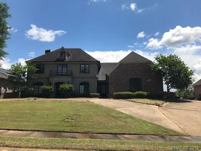 Shreveport Single Family Home For Sale: 119 Waters Edge Drive
