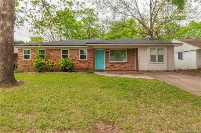 Bossier City LA Single Family Home For Sale: $120,000