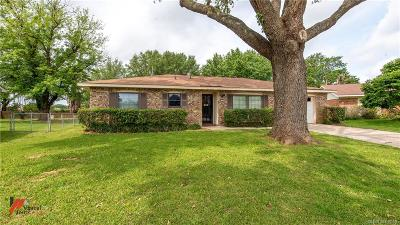 Bossier City LA Single Family Home For Sale: $129,900