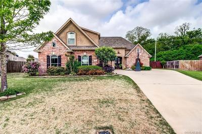 Bossier City Single Family Home For Sale: 820 Entrada Street
