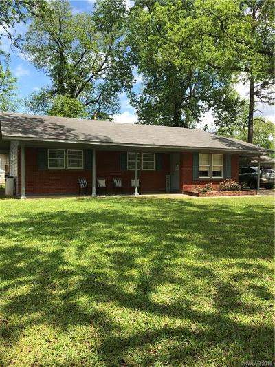 Bossier City Single Family Home For Sale: 4221 Evelyn Street