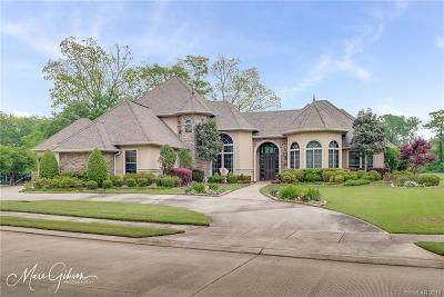 Bosier City, Bossier, Bossier Cit, Bossier City, Bossier Parish, Bossier` Single Family Home For Sale: 40 Duck Haven Point