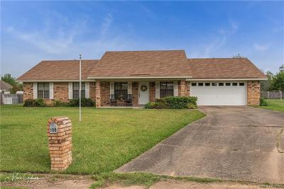 Benton Single Family Home For Sale: 108 Oakmont