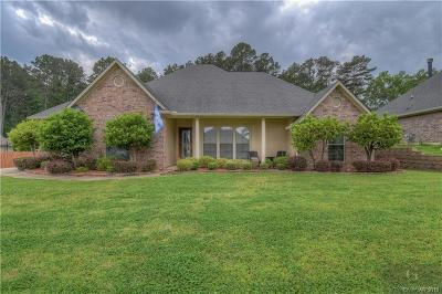 Haughton Single Family Home For Sale: 2018 Honeytree Trail