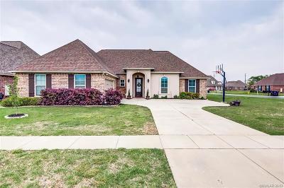 Bossier City Single Family Home For Sale: 600 Tunica Trail