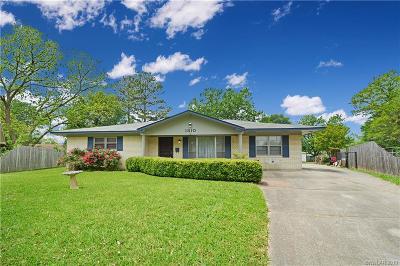 Bossier City Single Family Home For Sale: 1810 Neptune Circle