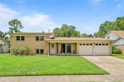 Bossier City Single Family Home For Sale: 3408 Oleander Place