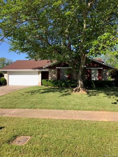 Bossier City Single Family Home For Sale: 5403 Foxglove Drive