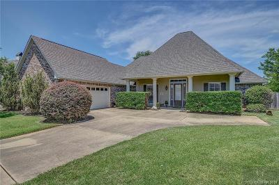 Bossier City Single Family Home For Sale: 1805 Bayou Bend Drive