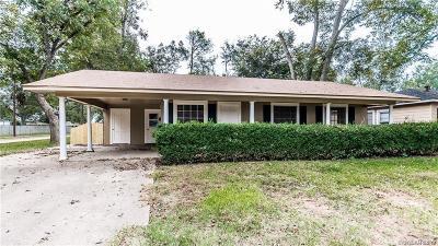 Bossier City Single Family Home For Sale: 1622 San Saba Street