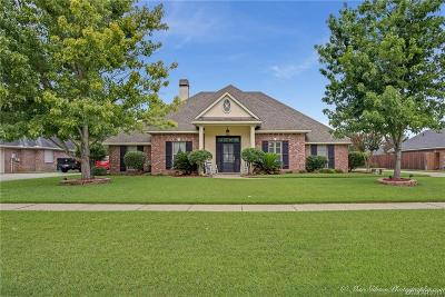Bossier City Single Family Home For Sale: 1812 Bayou Bend