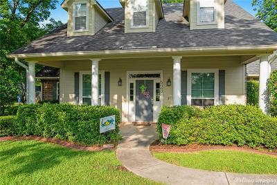 Bossier City Single Family Home For Sale: 5669 Bittersweet Drive