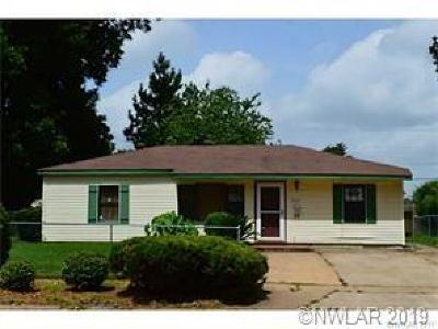Bossier City Single Family Home For Sale: 813 Princeton Avenue