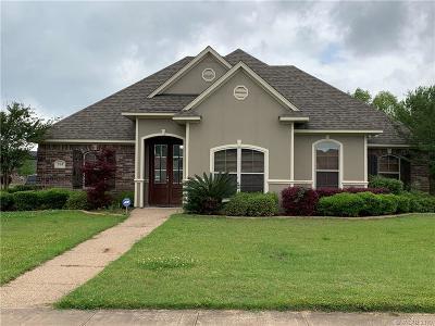 Bossier City Single Family Home For Sale: 531 Half Moon Lane