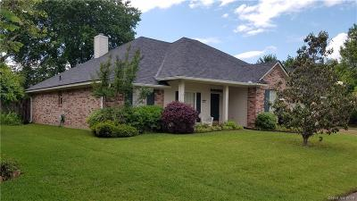 Bossier City Single Family Home For Sale: 1526 Nottoway Place