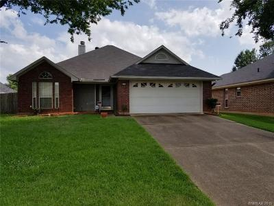 Bossier City Single Family Home For Sale: 1520 Winchester Drive