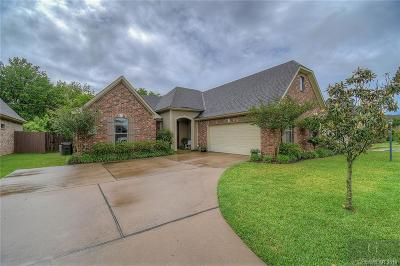 Bossier City Single Family Home Active Under Contract: 1124 Creole Drive