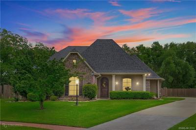 Bossier City Single Family Home For Sale: 752 Dumaine Drive