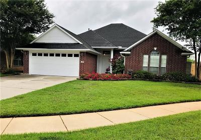 Bossier City Single Family Home For Sale: 2505 Cole Circle