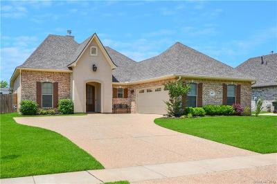 Bossier City Single Family Home For Sale: 487 Long Acre Drive