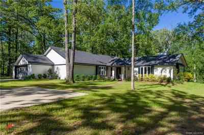 Benton Single Family Home For Sale: 229 Vance Road