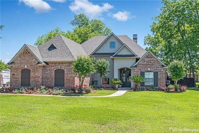 Bossier City Single Family Home For Sale: 544 Secret Cove