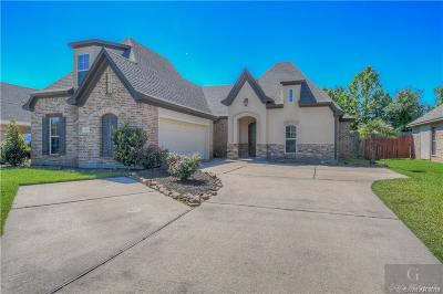 Haughton Single Family Home For Sale: 334 Wood Springs