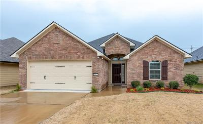 Bossier City Single Family Home For Sale: 3477 Grand Cane Lane