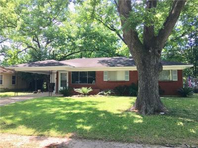 Bossier City Single Family Home For Sale: 4206 Paul Street