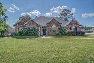 Haughton Single Family Home For Sale: 1732 Turning Leaf Trail