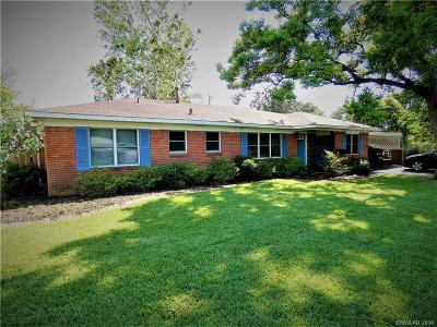 Bossier City Single Family Home For Sale: 2510 Plantation Drive