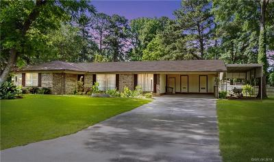 Haughton Single Family Home For Sale: 102 Mimosa Boulevard