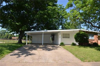 Bossier City Single Family Home For Sale: 4234 Parkway Drive