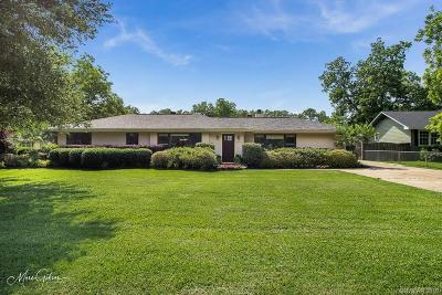 Shreveport Single Family Home For Sale: 5200 Dixie Garden Drive