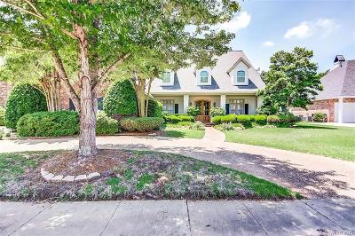 Bossier City Single Family Home For Sale: 130 Stonebridge Boulevard