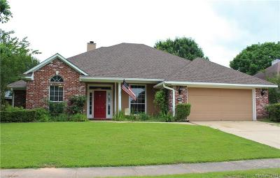 Bossier City Single Family Home For Sale: 2308 Middle Creek Boulevard