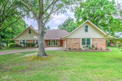 Haughton Single Family Home For Sale: 104 S Meadow Lane