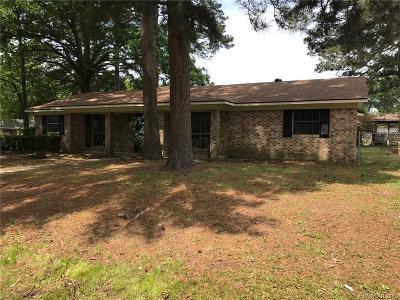 Shreveport Single Family Home For Sale: 9466 Baird Road