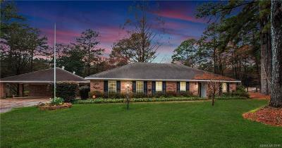 Shreveport Single Family Home For Sale: 8445 N Park Lane
