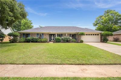 Bossier City Single Family Home For Sale: 5503 Bayou Drive