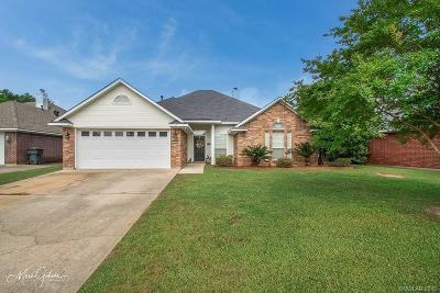 Bossier City Single Family Home For Sale: 2509 Brookhaven Drive