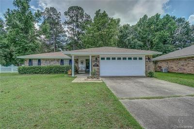 Haughton Single Family Home For Sale: 8710 Edgewood Drive