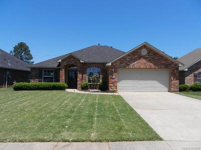 Bossier City LA Single Family Home For Sale: $189,900