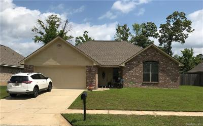 Haughton Single Family Home For Sale: 208 Southern Creek Circle